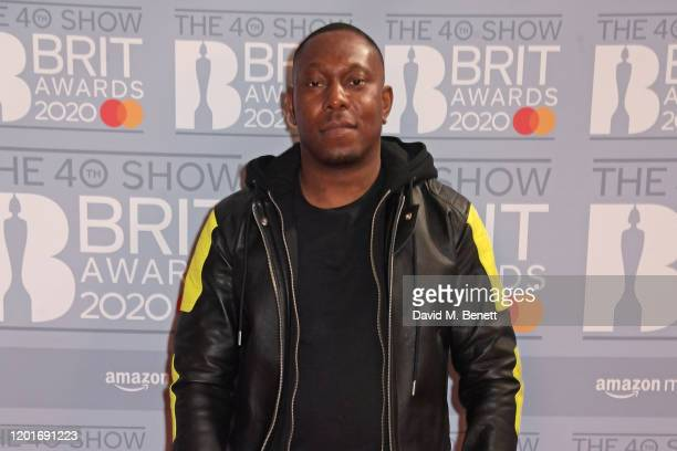 Dizzee Rascal attends The BRIT Awards 2020 at The O2 Arena on February 18 2020 in London England