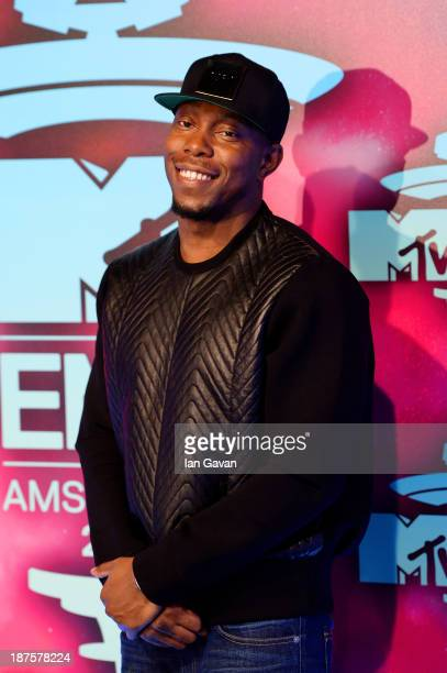 Dizzee Rascal attends the MTV EMA's 2013 at the Ziggo Dome on November 10 2013 in Amsterdam Netherlands