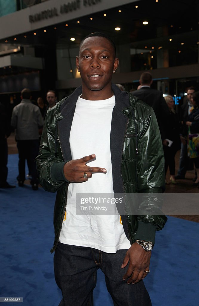 Dizzee Rascal attends the UK Premiere of Transformers: Revenge of the Fallen at Odeon Leicester Square on June 15, 2009 in London, England.