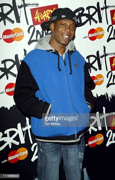 Dizzee Rascal during The Brit Awards 2006 with MasterCard Shortlist Announced at Riverside Studios in London Great Britain
