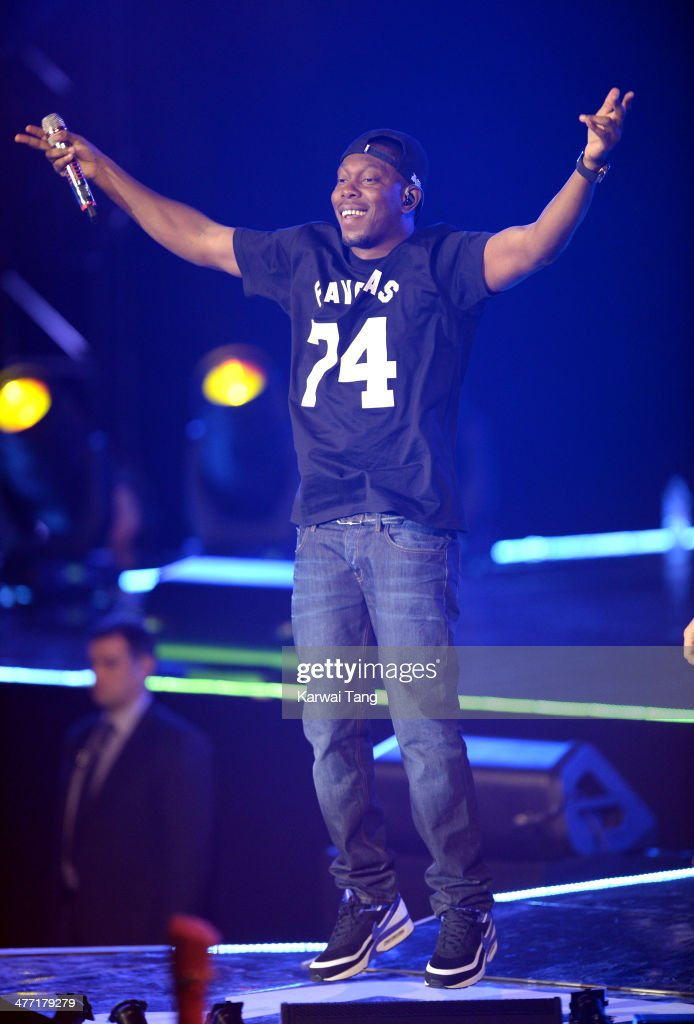 Dizzee Rascal onstage at We Day UK, a charity event to bring young people together at Wembley Arena on March 7, 2014 in London, England.