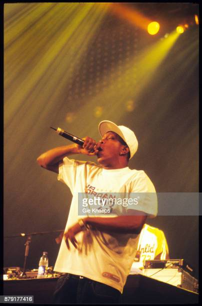 Dizzee Rascal performing on stage Pukkelpop Festival Hasselt Belgium 20th August 2004