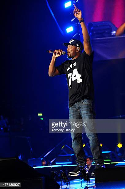 Dizzee Rascal performs as Free The Children hosts debut their UK global youth empowerment event We Day at Wembley Arena on March 7 2014 in London...