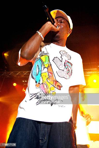 Dizzee Rascal performs at Manchester Academy on February 19 2008 in Manchester England