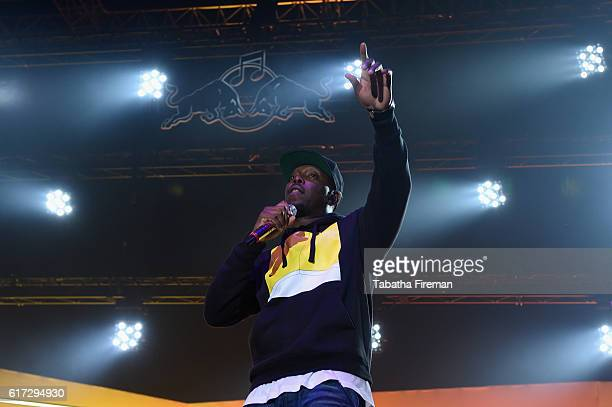 Dizzee Rascal performs his debut album Boy In Da Corner Live as part of the Red Bull Music Academy UK Tour at Copper Box Arena on October 22 2016 in...
