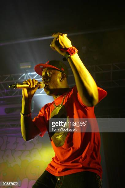 Dizzee Rascal performs live at O2 Academy on October 25, 2009 in Sheffield, England.