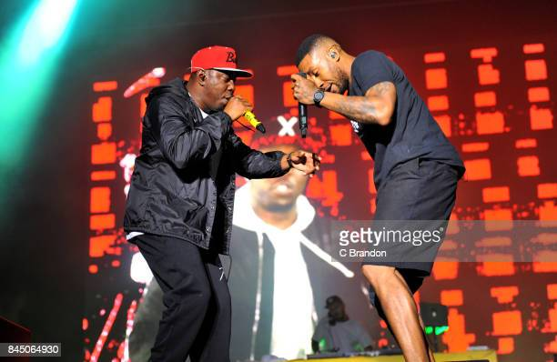 Dizzee Rascal performs on stage during Day 3 of Bestival at Lulworth Castle on September 9 2017 in Wareham England