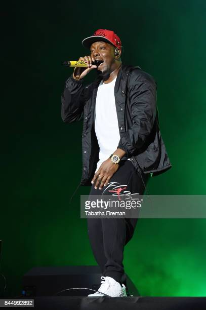 Dizzee Rascal performs on The Castle stage on Day 3 of Bestival at Lulworth Castle on September 9 2017 in Wareham England