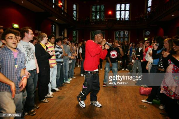 Dizzie Rascal appearing at the Oxford Union in 2006