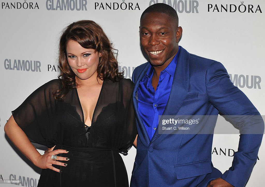 Dizzie Rascal (R) attends Glamour Women Of The Year Awards at Berkeley Square Gardens on June 7, 2011 in London, England.
