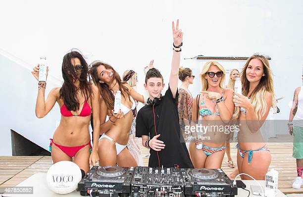 Dj Aiden Jude attends The Cult Collective Presents The Alfon's Animal Foundation At The 1 Hotel South Beach Brought To You By VO/CO Santera Tequila...