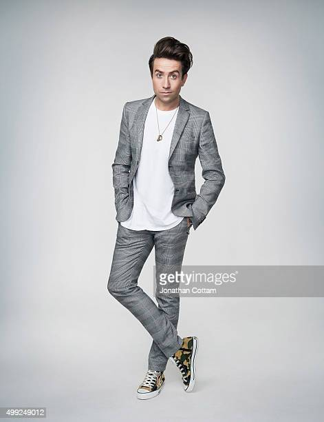 Dj and broadcaster Nick Grimshaw is photographed on September 30 2014 in London England
