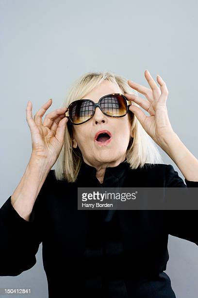 Dj and radio presenter Annie Nightingale is photographed on May 7 2007 in London England