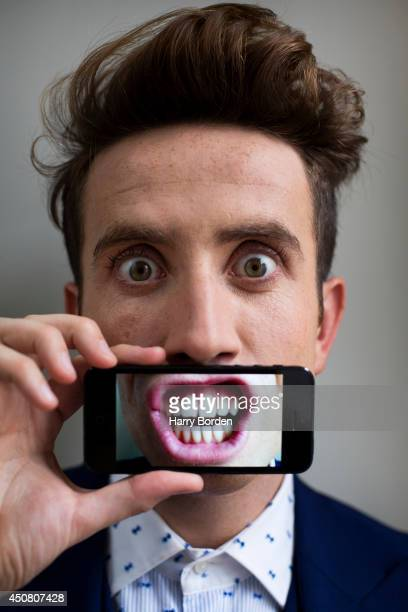 Dj and tv presenter Nick Grimshaw is photographed for the Sunday Times magazine on September 17, 2013 in London, England.