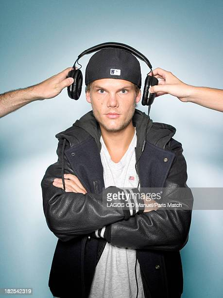 Dj Avicii aka Tim Bergling is photographed for Paris Match on September 10  2013 in Paris
