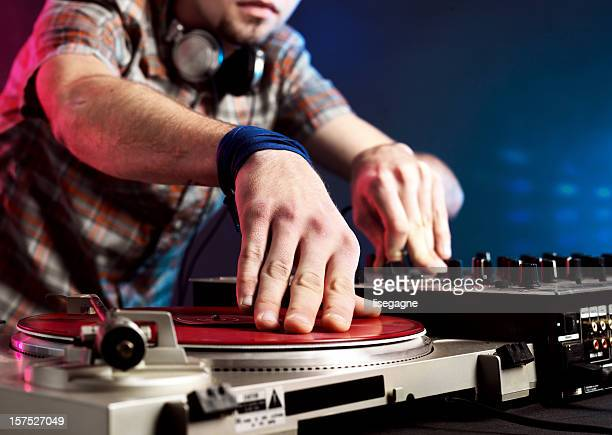 dj close-up - deck stock pictures, royalty-free photos & images