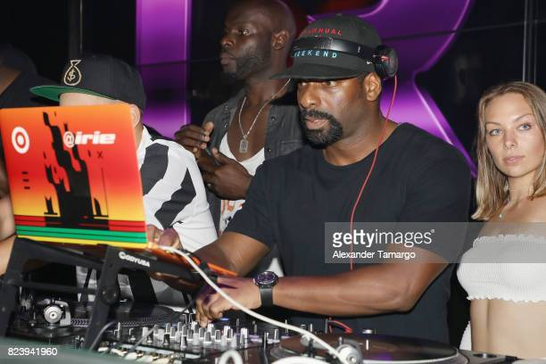 Dj Irie performs at the Paris SaintGermain vs Juventus After Party Presented By Mot Hennesy ft Flo Rida with Belvedere Hennessy and Dom Prignon at...