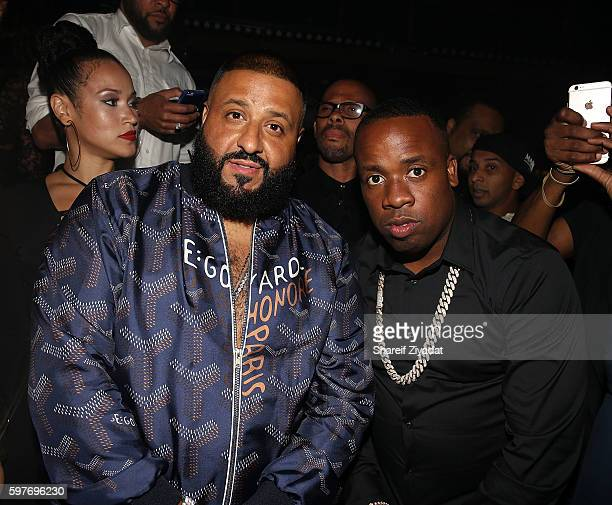 Dj Khaled and Yo Gotti attend Epic Summer Hosted By DJ Khaled at Marquee on August 28, 2016 in New York City.