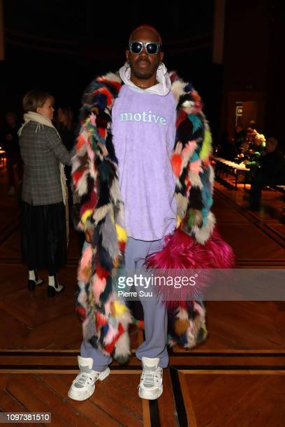Dj Kiddy Smile attends the Iris Van Herpen Haute Couture Spring Summer 2019 show as part of Paris Fashion Week on January 21 2019 in Paris France