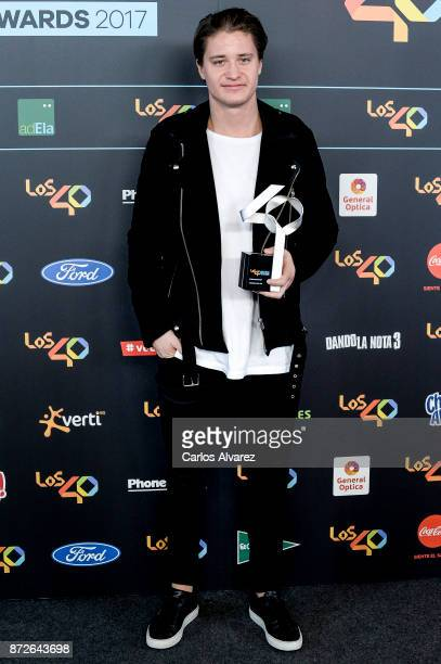 Dj Kygo attends the 40 Music Awards press room at WiZink Center on November 10 2017 in Madrid Spain