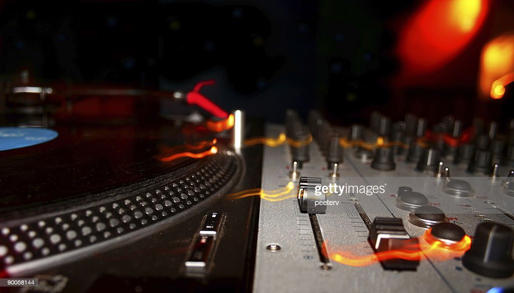 Dj Mixer Turntable Stock Photo - Getty Images
