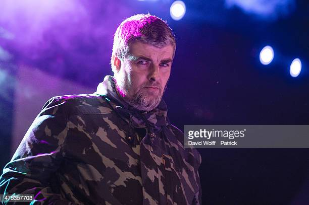 Dj Paul Gallagher opens for Beady Eye at Le Bataclan on February 26, 2014 in Paris, France.