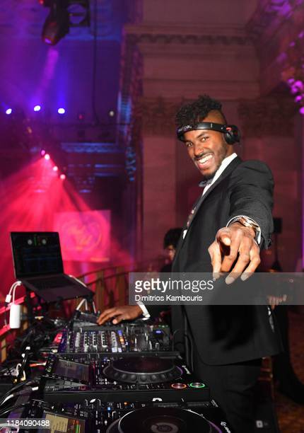 Dj Ruckus performs onstage during the Angel Ball 2019 hosted by Gabrielle's Angel Foundation at Cipriani Wall Street on October 28 2019 in New York...