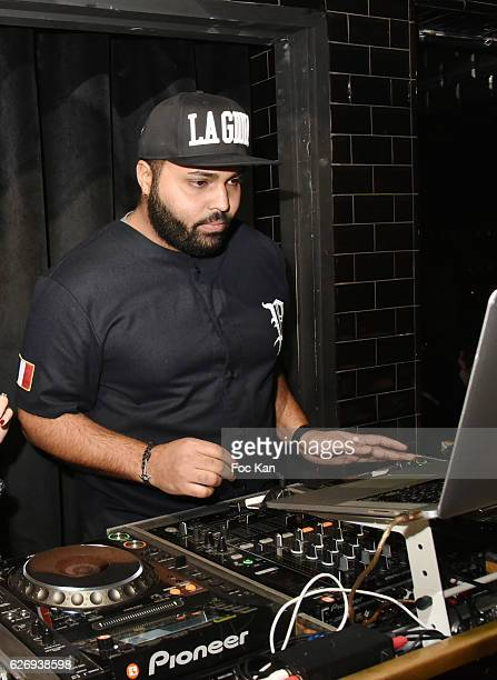 Dj SirYll performs during Charlotte Namura and Clio Pajczer DJ Party at La Gioia in VIP Room Theater on November 30 2016 in Paris France