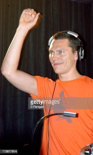 Dj Tiesto during DJ Tiesto Live at the Ruby Skye - San