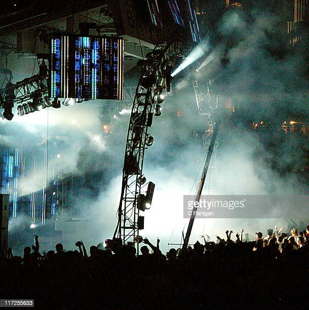 Dj Tiesto during Ultra Music Festival 2005 at Bayfront Park in Miami Florida United States