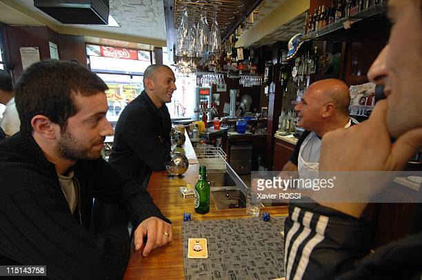 Djamel Bouras MoDem candidate with legislatives in SeineSaintDenis France on May 30 2007 In the cafeteria of Saint Denis