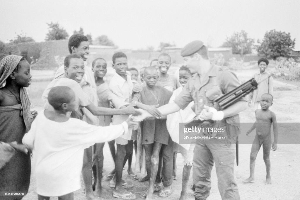 Les Forces Francaises De LOperation Manta Au Tchad Paras A NApos