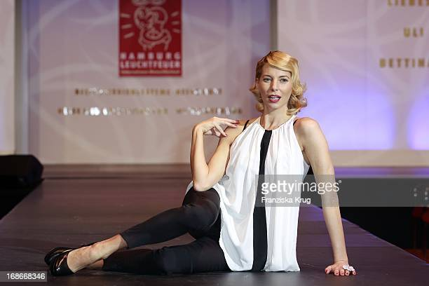 DJane Giulia Siegel at The Event Prominent fashion show at the Grand Elysée in Hamburg