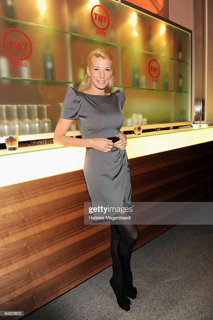 DJane Giulia Siegel attends the TNT Serie Channel Launch at the Isarpost on January 28, 2009 in Munich, Germany.