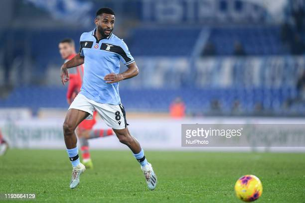 Djavan Anderson of SS Lazio during the Italian Cup match between Lazio and Cremonese at Stadio Olimpico Rome Italy on 14 January 2020
