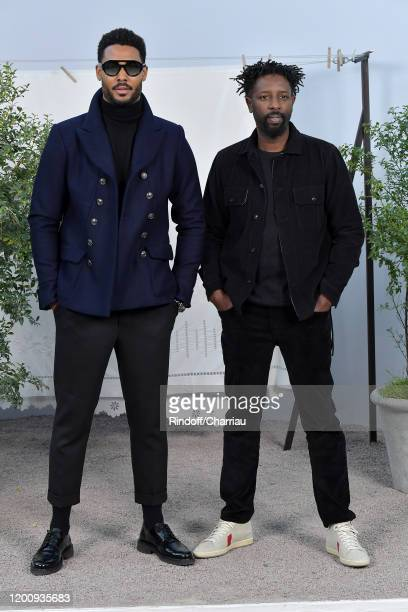 Djebril Zonga and Ladj Ly attend the Chanel Haute Couture Spring/Summer 2020 show as part of Paris Fashion Week on January 21, 2020 in Paris, France.