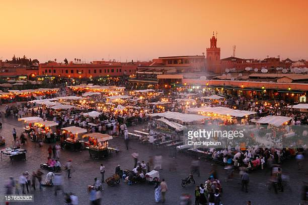 Djemaa El Fna, Marrakesch, Marokko