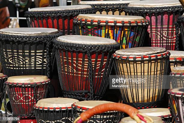 Djembé tambours paysage