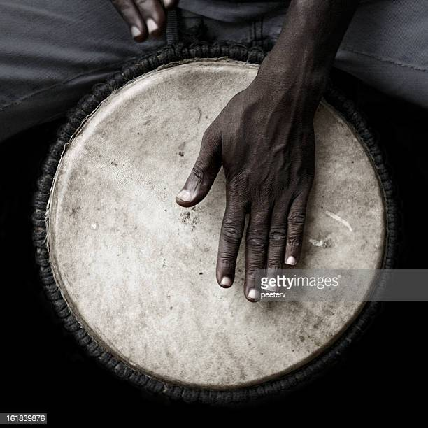 Djembe player.