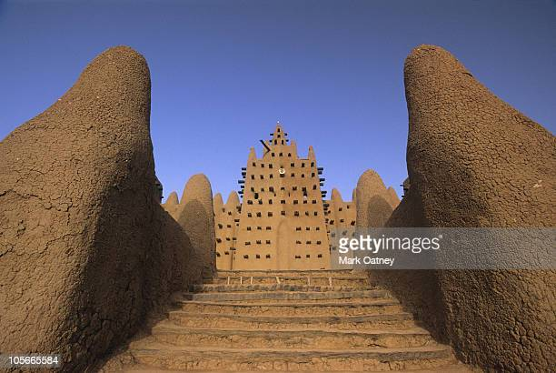 djenne mosque, djenne, mali, africa - mali stock pictures, royalty-free photos & images