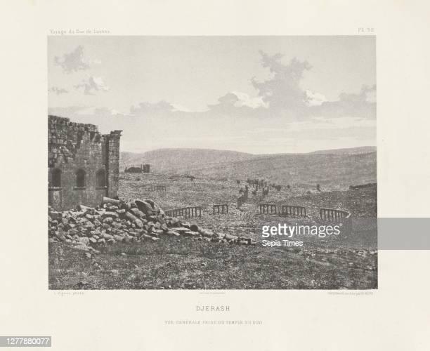 Djerash, Voyage d'exploration à la mer Morte, à Petra, et sur la rive gauche du Jourdain, Albert, Honoré Paul Joseph d', duc de Luynes, 1802-1867,...