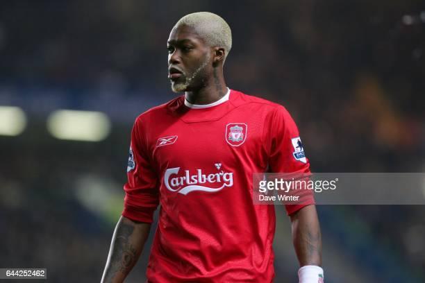 Djibril CISSE Chelsea / Liverpool 25eme journee de Premier League Photo Dave Winter / Icon Sport