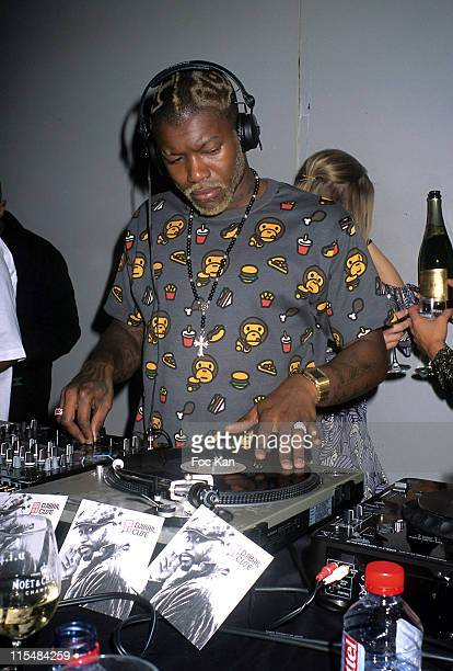 Djibril Cisse during Djibril Cisse's Music and Me CD Launch Party December 10 2006 at VIP Room in Paris France