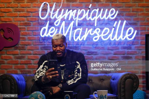 Djibril Cisse interview at Centre RLD on February 12 2019 in Marseille France
