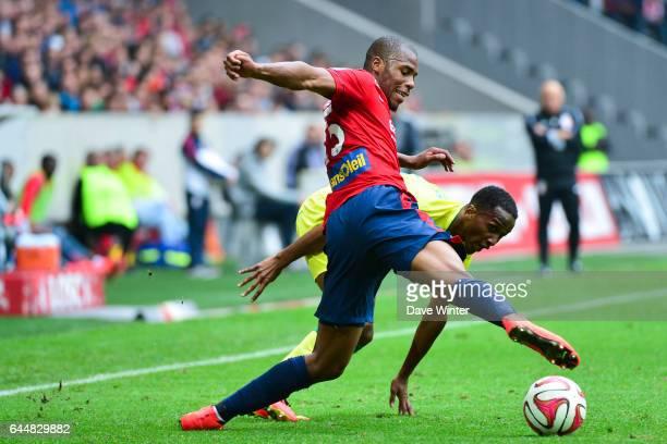 Djibril SIDIBE / Chaker ALHADHUR Lille / Nantes 5eme journee Ligue 1 Photo Dave Winter / Icon Sport
