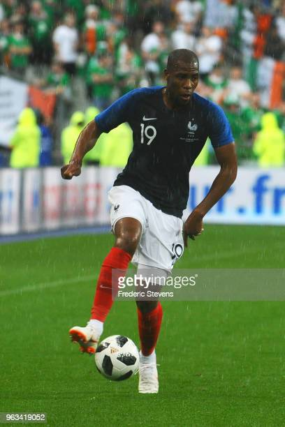Djibril Sidibe defender of France Football team during the friendly match between France and Ireland at Stade de France on May 28 2018 in Paris...