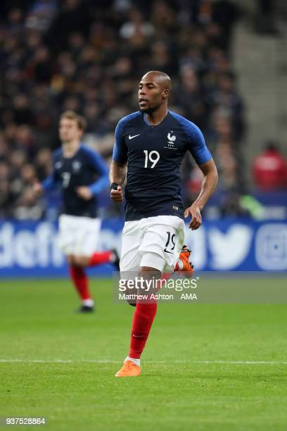 Djibril Sidibe of France during the International Friendly match between France and Colombia at Stade de France on March 23 2018 in Paris France