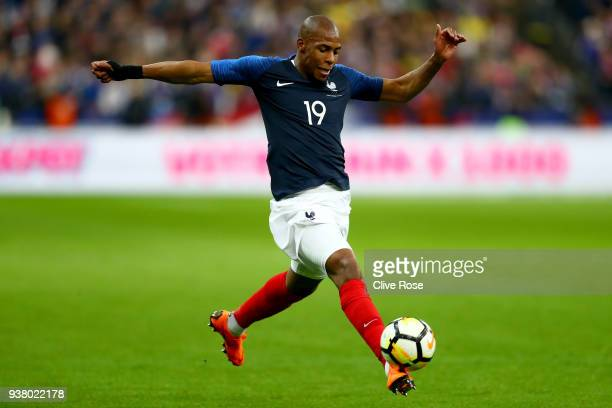 Djibril Sidibe of France during the International friendly match between France and Columbia at Stade de France on March 23, 2018 in Paris, France.