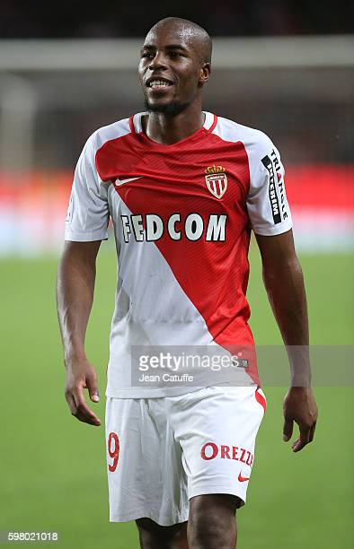 Djibril Sidibe of Monaco looks on following the French Ligue 1 match between AS Monaco and Paris SaintGermain at Stade Louis II on August 28 2016 in...