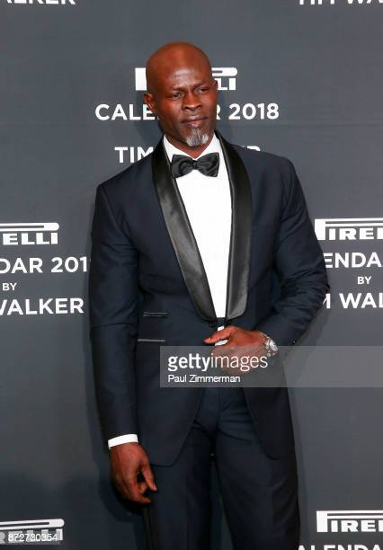 Djiman Hounsou attends Pirelli Calendar 2018 Launch Gala at The Manhattan Center on November 10 2017 in New York City